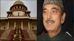Azad Has Sought Permission To Sc To Check On The Social Atmosphere In Kashmir