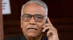 Former Bjp Leader Yashwant Sinha Has Refused To Leave Srinagar In Protest