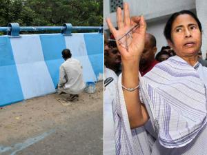 শহরকে নীল-সাদা করার ভাবনা এসেছে 'পিঙ্ক' থেকে, বোঝালেন মমতা