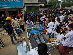 নেপাল: 'অপারেশন মৈত্রী' জোরদার হলেও,উদ্ধারকাজ ব্যহত বৃষ্টিতে
