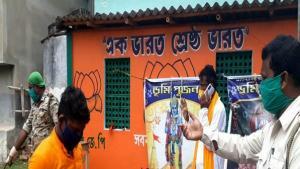 রাজ্যে রাম পুজোয় 'বাধা'! আটক বিজেপি নেতা-কর্মীদের হুঁশিয়ারি পুলিশকে