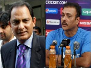 Indian Captain Debate Azharuddin Slams Ravi Shastri Over Sourav Ganguly Jibe
