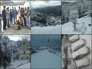 Himachal Pradesh Shimla Turns White Witnesses Heavy Snowfall
