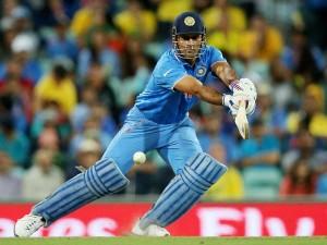 India Vs England Practice Match Ms Dhoni Scores Unbeaten 68