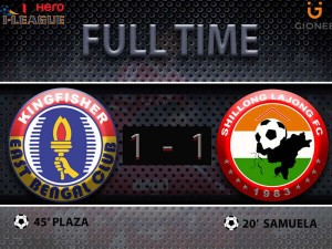 I League East Bengal Held A 1 1 Draw Lajong At Home