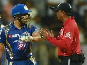 Ipl 2017 Rohit Sharma Fined Confronting Umpire
