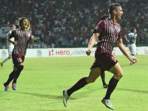 I League Mohun Bagan Beat East Bengal 2 1 Norde Mallick Scores Goal