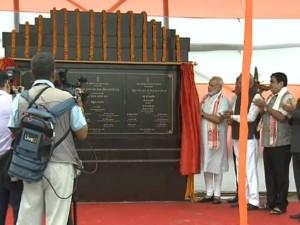 Pm Narendra Modi Inaugurates India S Longest Bridge Mark 3 Years In Goverment