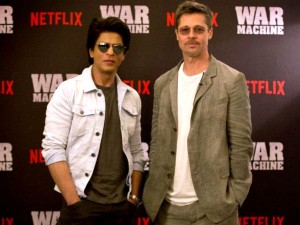 What Happened When Shahrukh Khan Brad Pitt Shared Stage Together