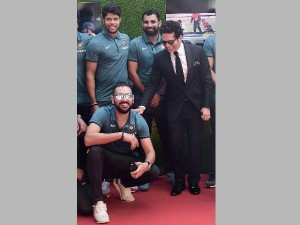 Indian Cricketers Attend Screening Sachin Billion Dreams
