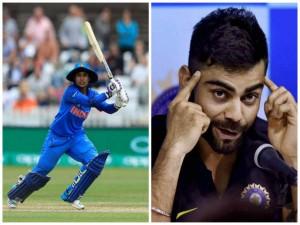 Women S World Cup Virat Kohli Co Wish Indian Team