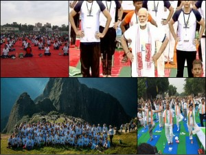 People Performs Yoga On International Yoga Day Around India World