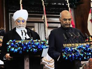 Ranmath Kovind Sworn As 14th President India