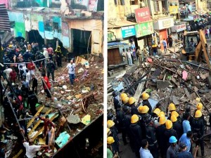 At Least 3 Dead 30 Trapped As Four Storeyed Building Collapses Ghatkopar