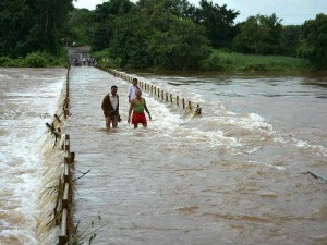 The Flood Situation Has Created West Bengal Due Heavy Rain