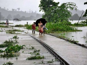 Bihar Viral Video Shows How 3 A Family Get Washed Away