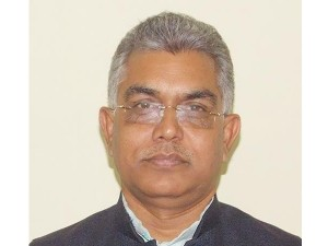 Dilip Ghosh Protests Against Tmc Government S Decision Slaughter House