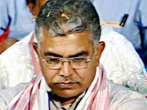 Dilip Ghosh Attacks Mamata Banerjee Rajib Banerjee Flood Issue