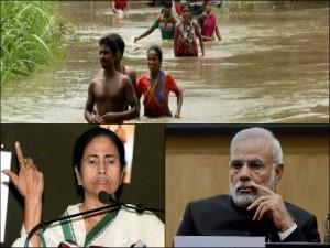 Why Pm Modi Express Concern On Assam Bihar Flood Remain Silent Mamata S Bengal