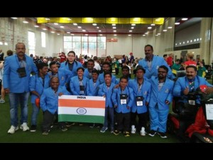 Indian Dwarf Contingent Makes Proud India