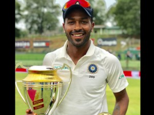 Hardik Pandiya Got Recognisation Become Man The Match Kandy Test
