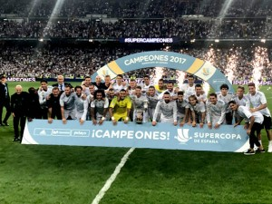 Real Madrid Wins Super Cup After Defeating Barcelona 2nd Leg Match