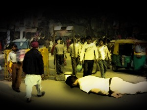 Delhi Accident Victim Cried For Help No One Came To Rescue
