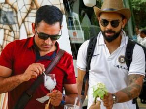 Team India Reached Dambula One Day Series Against Sri Lanka