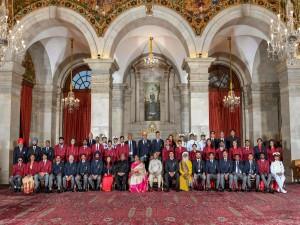 President Ram Nath Kovind Honoured 74 Indian Sports Personalities