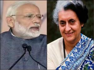 Narendra Modi Often Curses His Congress Predecessors But Spares Indira Gandhi