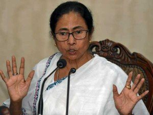 Cm Mamata Banerjee Takes Over Another Party Office And Draws Own Party Symbol Unprecedented Scenario