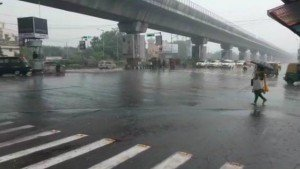 Heavy Rain Lashes Kolkata And Other Adjoining Districts