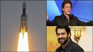 Chandrayan 2 Lunch Bahubali Prabhas To Shahrukh Khan Sends Wishes To Isro