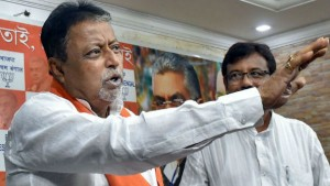 Mamata Govt S Immersion Hasbeen Done Say Mukul Roy