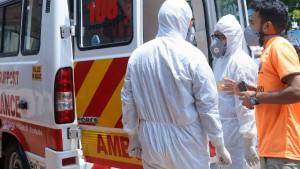 Calcutta Medical College Staff Prevent Suicide Attempt Of Coronavirus Infected Patient