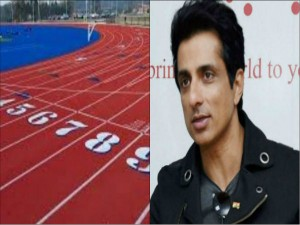 Sonu Sood Delivers Shoes To A Athlete For Olympics Training