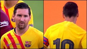 Lionel Messi Return For Barcelona As Captain Play Friendly Match For 45 Minutes