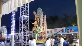 রেড রোডে 'রাঙা মাটির বাংলা'য় বসেছিল চাঁদের হাট
