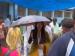 বসিরহাটে ছাতা মাথায় নুসরত পৌঁছলেন ভোটকেন্দ্রে! পরের ঘটনা বন্দি হল ভিডিওতে