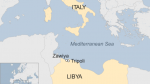 Dead Body Migrants Drown Off Libya