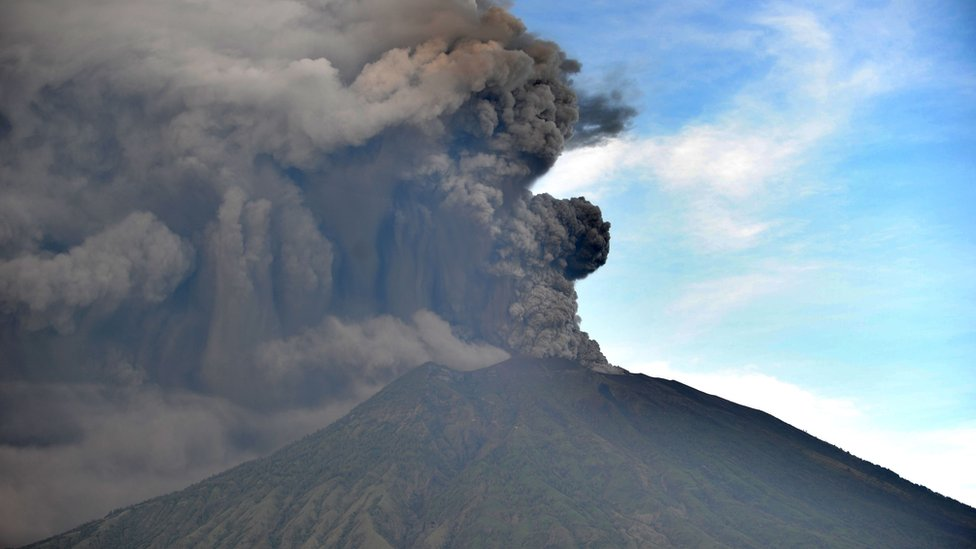 Bali, Mount Agung,Indonesia,Volcanic Eruption, Highest Alert