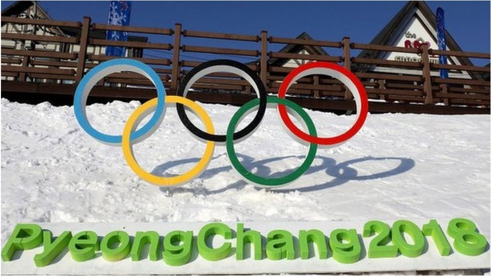 Winter Olympics rings