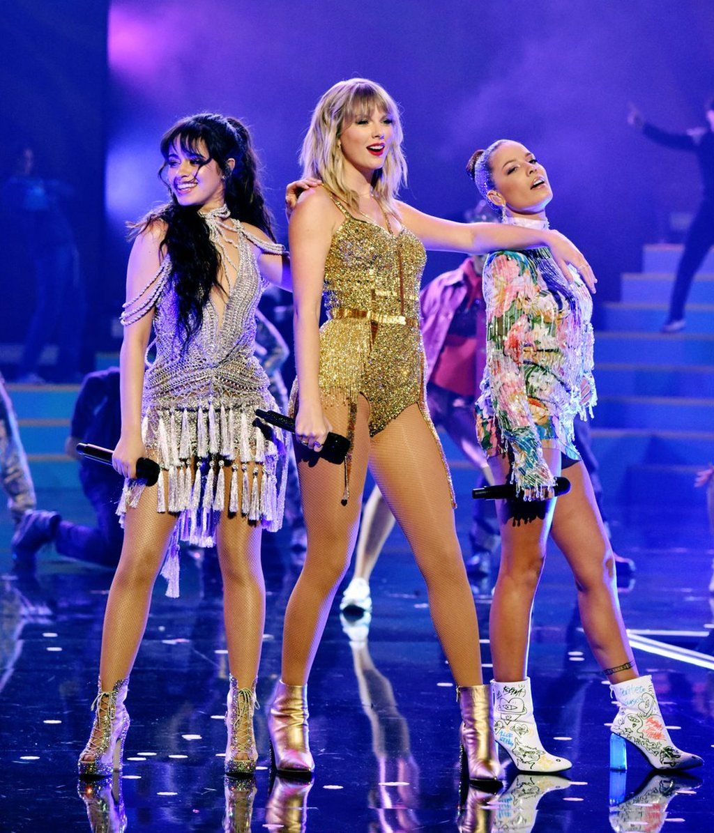 Camila Cabello, Taylor Swift and Halsey