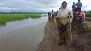Pregnant Hasina Is Walking 6 Days A Bid Flee From Myanmar