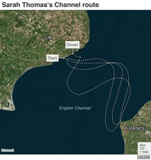 This Lady Cross English Channel Four Times